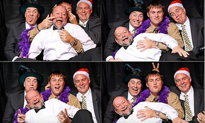 Fotoboothsnj.com - Fords: Three- or Four-Hour Photo-Booth Rental from Fotoboothsnj.com (Up to 59% Off)