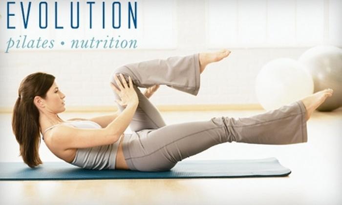 EVOLUTION Pilates and Nutrition - Bristol: $40 for 10 Pilates Mat Classes at EVOLUTION Pilates and Nutrition ($100 Value)