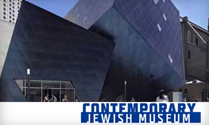 Contemporary Jewish Museum - SoMa: $37 for One Household Membership to the Contemporary Jewish Museum