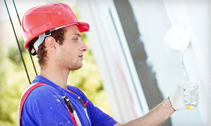 1-888-WOW-1DAY! - North Clairemont: Seven Hours of Painting Services by One or Two Professional Painters from 1-888-WOW-1DAY! (Up to 52% Off)