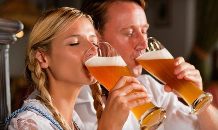 Biergarten Haus - Capitol Hill: $25 for $50 Worth of German Fare and Drinks at Biergarten Haus