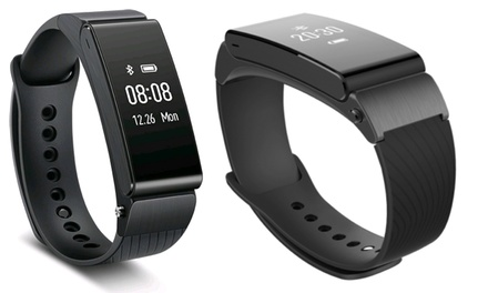 Smartwatch impermeable Huawei TalkBand B2 negra, envío gratuito