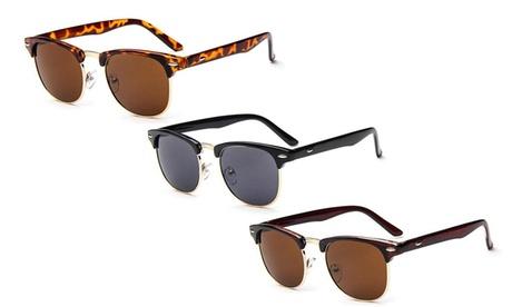1 ou 2 lunettes de soleil rétro unisexe
