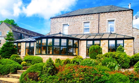 Cumbria: Double or Superior King Room for 2 with Dinner Credit, Wine and Late Check-Out at Melbreak Country House Hotel from Melbreak Country House Hotel