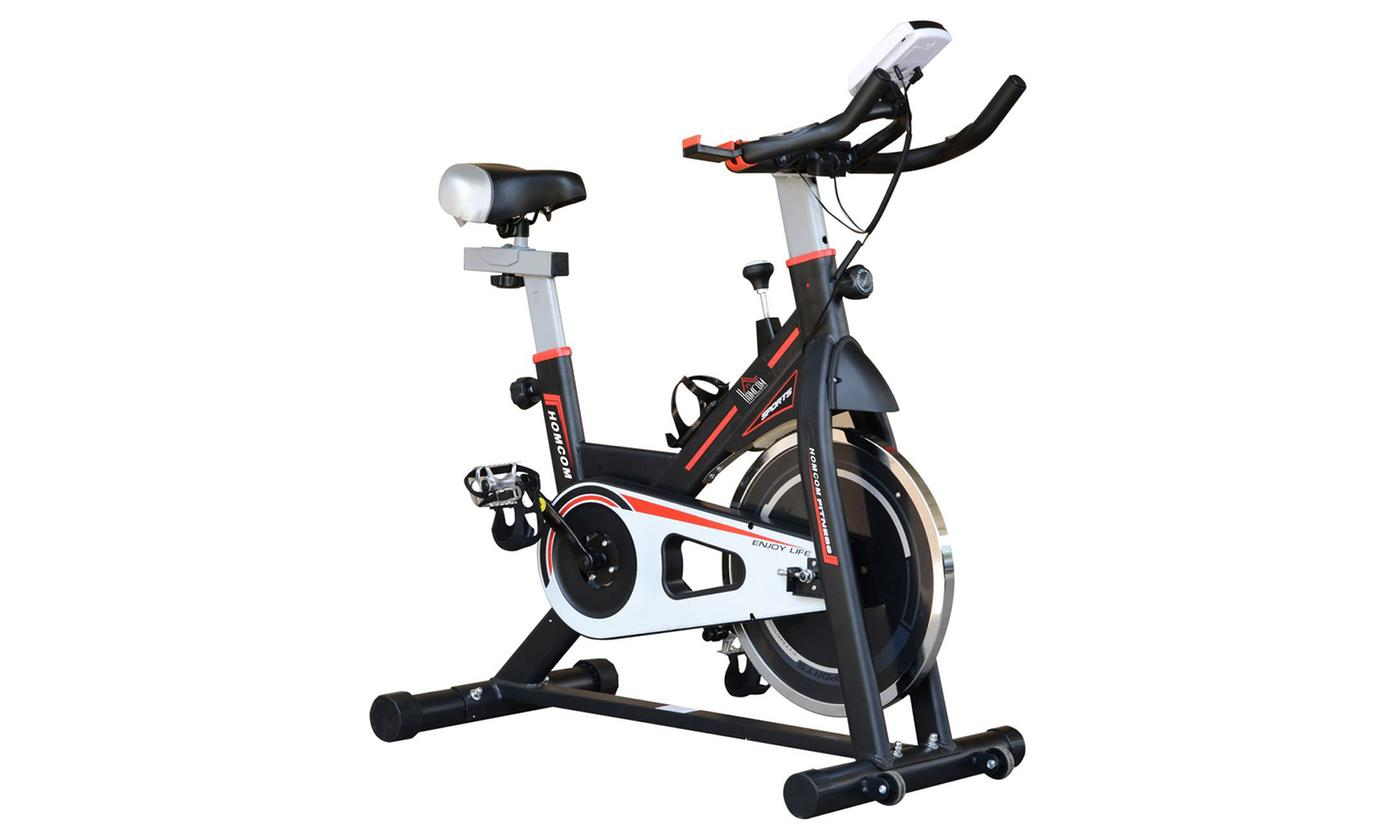 HomCom Flywheel Exercise Bike