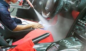 My Car Design: Pkw-Innen- und Außenreinigung mit Heißdampfstrahler, opt. mit Nano-Versiegelung, bei My Car Design (bis zu 70% sparen*)