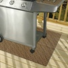 Drymate Gas Grill Mat - Protects Decks and Patios from Grease Splatter