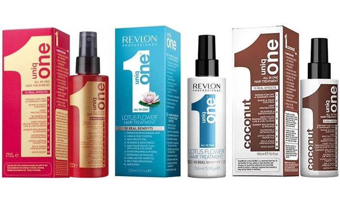 enfant le prix reste stable classcic Soins cheveux Revlon Uniq One | Groupon