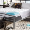 """ComforPedic Loft from BeautyRest 4.5"""" NRGel and Fiber Mattress Topper"""