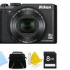 Nikon Coolpix S9900 16MP 1080p Digital Camera Bundle