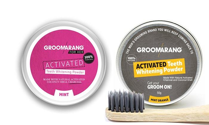 Groupon Goods Global GmbH: Fino a 6 confezioni di polvere dentale sbiancante al gusto menta, menta e arancia