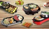 Electric Grill Steamboat Hotpot
