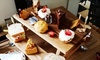 Roobarb N Custard - Seaham: Afternoon Tea with an Optional Glass of Prosecco for Two or Four at Roobarb N Custard (47% Off)