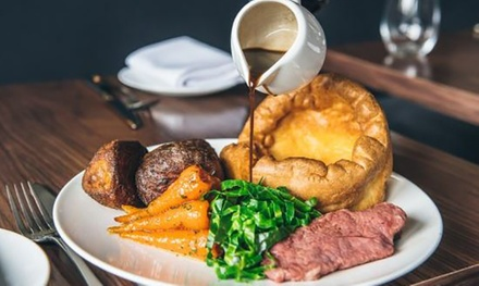 Three-Course Sunday Lunch with Glass of Wine for Two or Four at Mansfield Manor Hotel (Up to 59% Off)