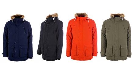 Men's Henleys Informa Parka Jacket in Choice of Colour