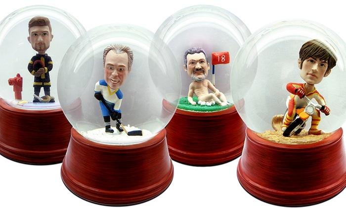 Custom Snow Globes Groupon