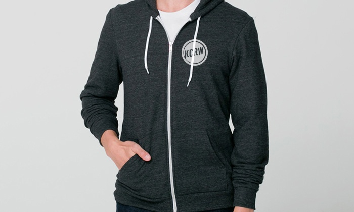 KCRW Public Radio: Year-Long Membership and Discount Card with a T-Shirt or Hoodie at KCRW Public Radio (52% Off)