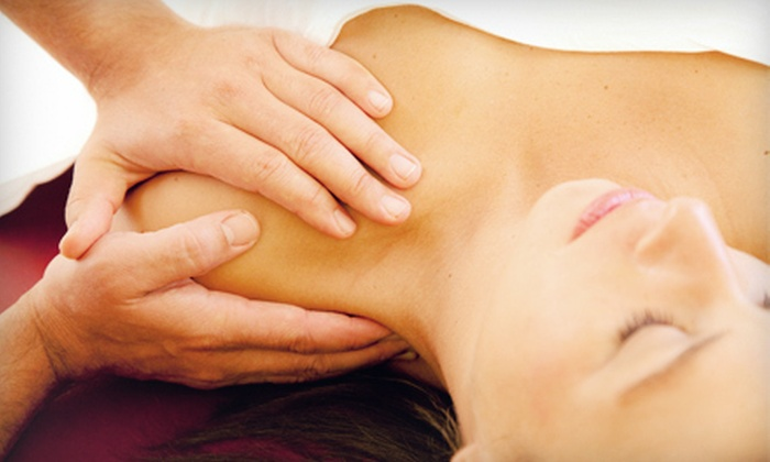 Jeniene Nieboer at Pure Wellness Centre - Lakeview : One 60- or 90-Minute Massage or Three 60-Minute Massages from Jeniene Nieboer at Pure Wellness Centre (Up to 63% Off)