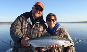 Fish With Jim Outfitters: $189 for a Weekday Four-Hour Inland Guided Fishing Trip for Two at Fish With Jim Outfitters ($300 Value)