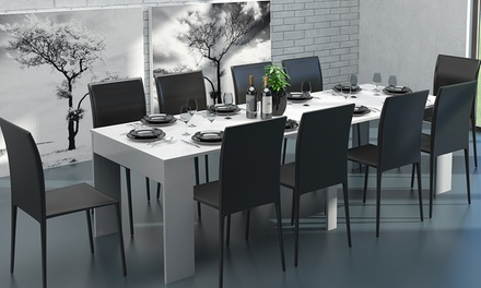Extending Dining Console Table Groupon Goods