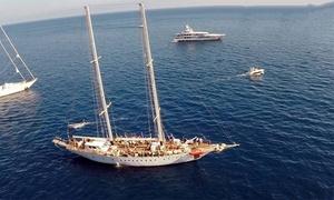 Nuovo Veliero Tortuga: Mini crociera su veliero a Ischia per 2 persone con brunch e visita da Nuovo Veliero Tortuga (sconto fino a 53%)