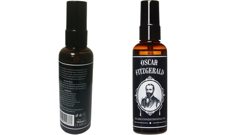 One £7.99, Two £14.99 or Three £22.99 100ml Bottles of Oscar Fitzgerald Beard Oil