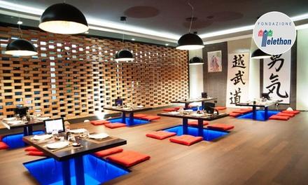 Menu sushi in formula All you can eat per 2, 4 o 6 persone al nuovo ristorante Sushi Sun Magliana