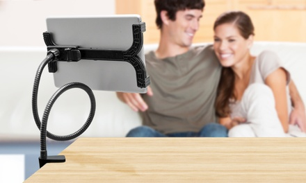 One or Two Rotating Tablet Holders with Optional Cable