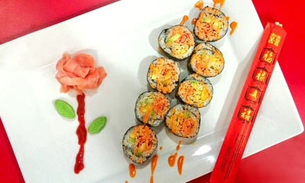 Sushi, Sides, and Drinks at Red Bang Bang Sushi (Up to 50% Off)