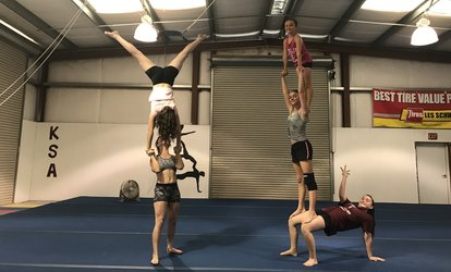 50% Off Gymnastics Classes