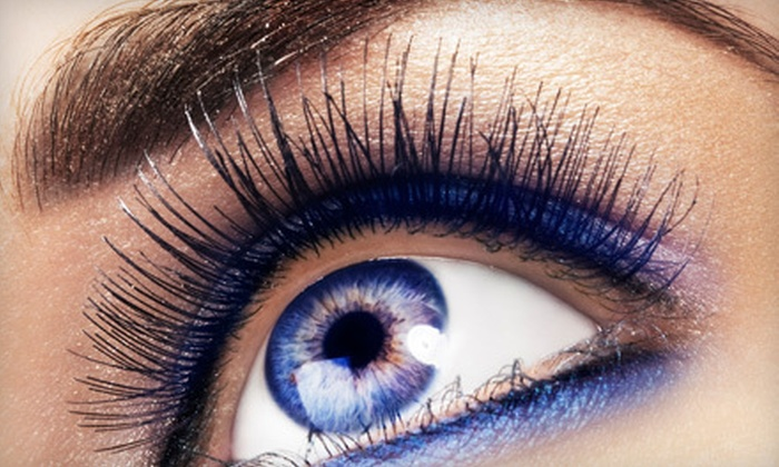 VeryPrettyGood - Temecula: One or Two Full Sets of Drama Eyelash Extensions with Eyebrow Waxes at VeryPrettyGood (Up to 72% Off)
