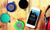 Aduro Phase AY-FP20 Water-Resistant Portable Bluetooth Speaker