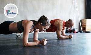 Spazio Polifunzionale: 3 o 5 lezioni fitness con personal trainer per una o 2 persone alla palestra Spazio Polifunzionale (sconto fino a 89%)