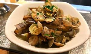 D4 Restaurant & Winebar: Cena con specialità di pesce fresco, dolce e calice di Franciacorta al D4 Restaurant & Winebar (sconto fino a 58%)