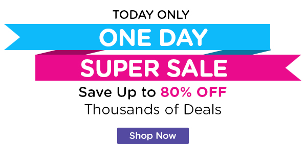 One Day Super Sale