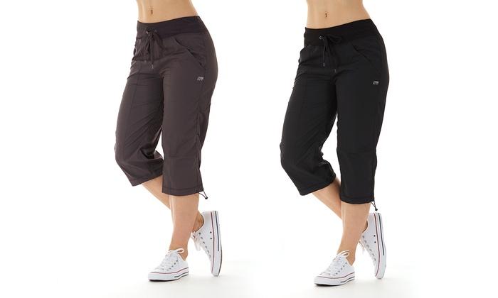 Marika Women's Stretch Drawcord Capris (Sizes S & M) | Groupon