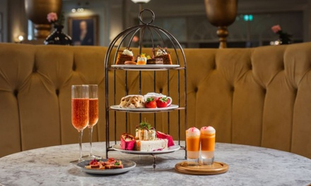 Afternoon Tea with Optional Bubbly for 2 or 4 at DoubleTree by Hilton Harrogate Majestic Hotel (Up to 51% Off)