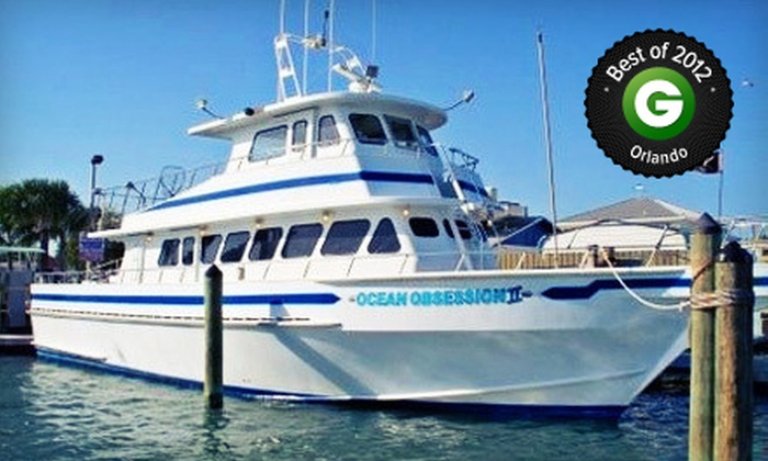 Obsession Charters - Cape Canaveral: Shark-Fishing Trip or Half- or Full-Day Fishing Trip from Obsession Charters (Up to 55% Off)