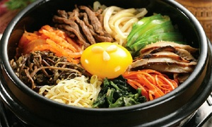 Ja Kum Sung: Korean Food for Two or Four at Ja Kum Sung (40% Off)