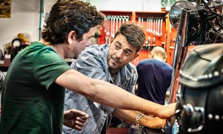 Cambio de aceite y revisión para motocicletas de hasta 1.000 cc desde 19,99 € en Motos Guinardó