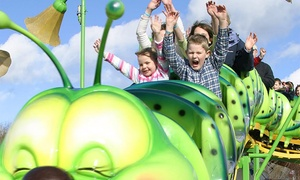M&D's Theme Park: Ride-All-Day Wristband for One or a Family of Four, or a Family Season Pass to M&D's Theme Park (Up to 48% Off)