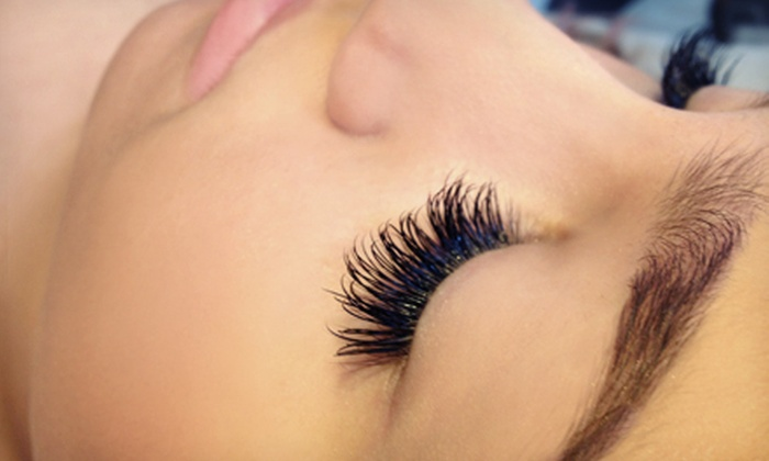 Suki Day Spa - Multiple Locations: 30, 50, or 80 Eyelash Extensions per Eye at Suki Day Spa (Up to 58% Off)