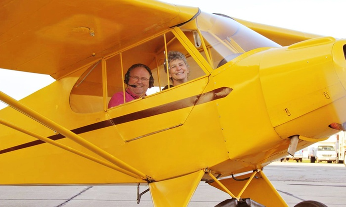 T&G Flying Club - Downtown: Flying Lesson Package for One or Two at T&G Flying Club (Up to 59% Off)