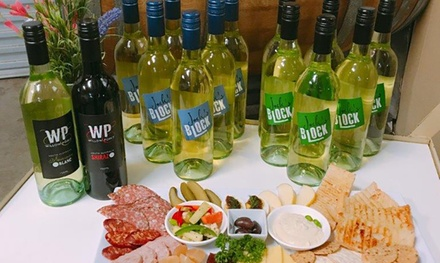 Wine Tasting + Sharing Plate & Take Home Bottles $29 or 4 People $59 at Willow Point Wines Up to $174 Value