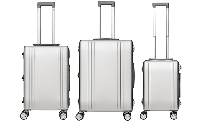 the packenger suitcases groupon goods. Black Bedroom Furniture Sets. Home Design Ideas