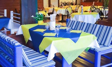 Pranzo o cena di pesce con antipasto, primo, secondo e dolce per 2, 4 o 6 persone da Al Parco da Max (sconto fino a 61%)