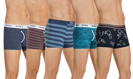$39.95 for a Six-Pack of Bonds Men's Trunks: Microfibre, Hipster, Fit, Guyfront (Don't Pay up to $173.70)