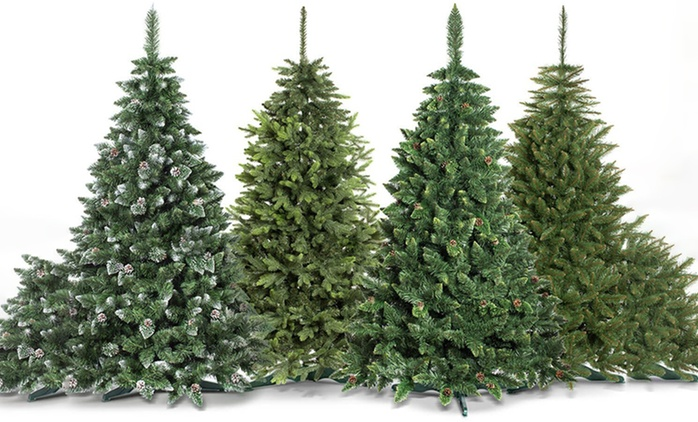 Artificial Christmas Tree in Choice of Size from £32.99 With Free Delivery (Up to 69% Off)