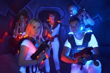 1 partie de laser game pour 1, 2, 4 ou 6 personnes à 4,90 € au centre Starship Laser Lille