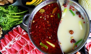 Little Sheep Mongolian Hot Pot: Hot-Pot Cuisine for Two or Four at Little Sheep Mongolian Hot Pot (45% Off)